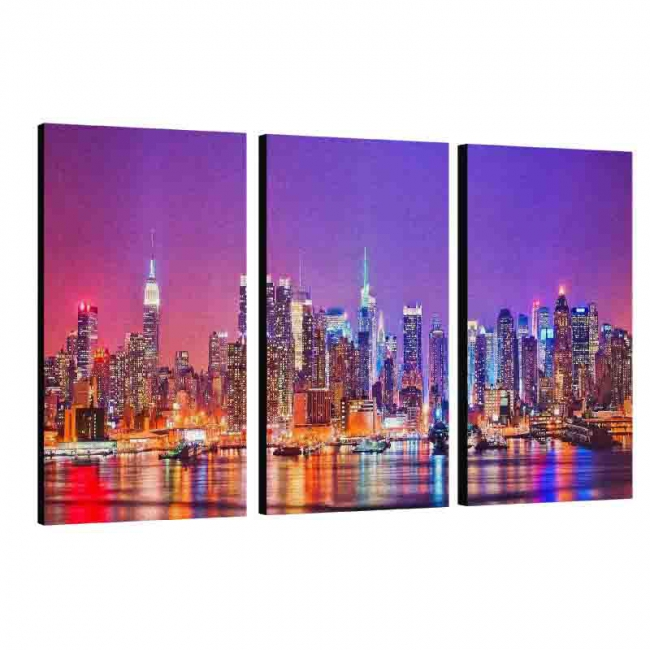 Collage Canvas with 3 frames