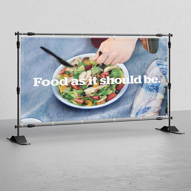 110 g Fabric Banner