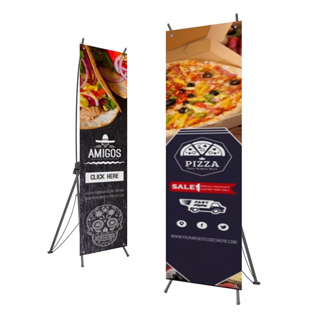 X Banner Stand
